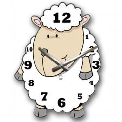 """Детские настенные часы """"Овечка"""" C-069"""