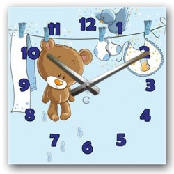 """Детские настенные часы """"Тэди"""" C-072"""