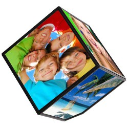 Фоторамка куб вращающийся мал