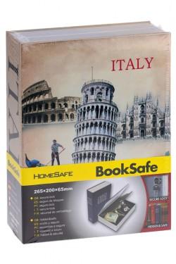 Книга сейф Италия бол