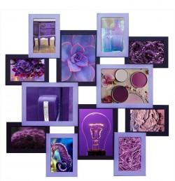 Фоторамка Путешествие Фиолет на 12 фото
