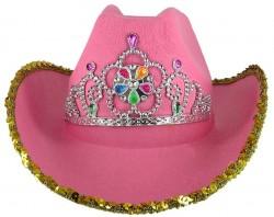 "Шляпа розовая ""Корона flash"""