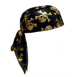 Бандана пирата с черепами