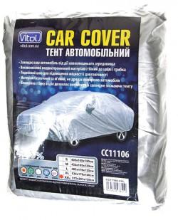 Автомобильный тент Vitol HC11106  2XL  Hatchback  432х165х125  к.з/м.в.дв