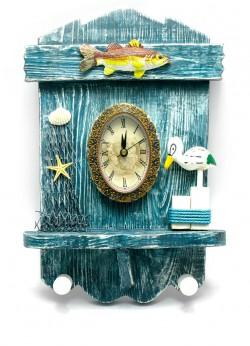 Вешалка+часы Лагуна