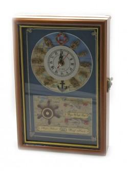 Ключница+часы Карта Сокровищ