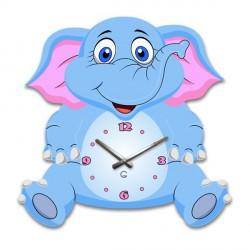 """Детские настенные часы """"Слоник"""" C-075"""