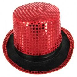 """Шляпа """"Цилиндр с блестками"""""""