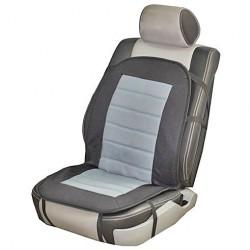 Накидка на сиденье с подогревом Vitol H 96024 GY/BK