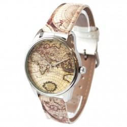 Часы арт Карта