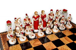 Шахматы Троянская битва (small size)