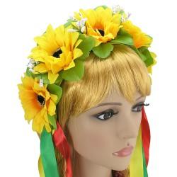 Украинский веночек Солнышко