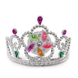 Корона Новый Год светится