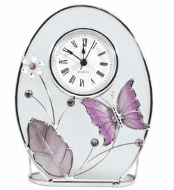 Часы Лиловые бабочки