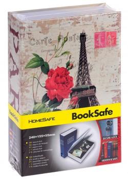 """Книга - сейф """"Париж"""", 18 см."""