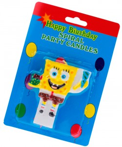 Свеча  Sponge Bob