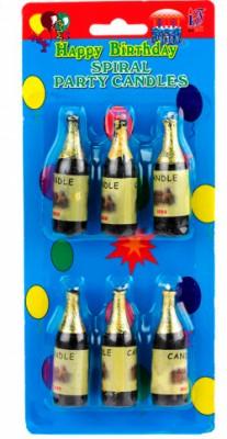 Свечи Бутылка Шампанского