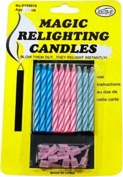 Свечи магические (10 штук)