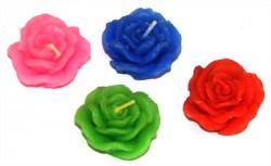 Свечи плавающие Роза