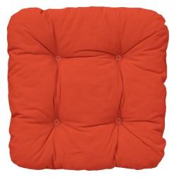 Подушка 40*40 см, оранжевая, Ellen 05000Х03