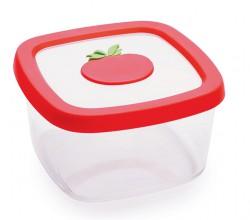 Контейнер для продуктов, 1,0 л, томат