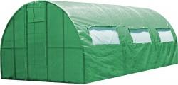 Каркасная теплица Greenhouse 6 м под пленку или полиматериал, каркасная