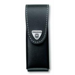 4.0524.3 Чехол Victorinox поясной черный кожаный