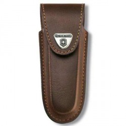 4.0533 Чехол Victorinox поясной кожаный с кнопкой