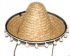 Шляпа Сомбреро с кисточками детская