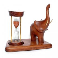 """Песочные часы """"Слон трубящий"""""""