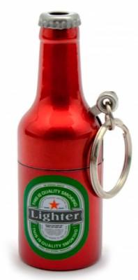 Зажигалка Бутылка пива брелок