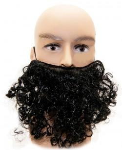 Борода накладная черная