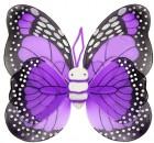Крылья Бабочки пятнистые фиолетовые
