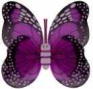 Крылья Бабочки пятнистые малиновые