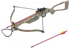 Арбалет Man Kung MK-150A2ACR, 40lbs, 2 стрелы, камуфляж