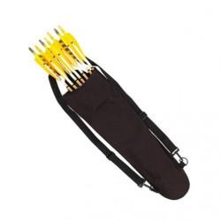Кивер (колчан) для стрел Bearpaw Back Pack Black, черный нейлон
