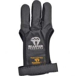 Перчатка для стрельбы из лука Bearpaw Black, размер LG