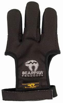 Перчатка для стрельбы из лука Bearpaw Black, размер XL