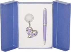 Подарочный набор Heart фиолетовый