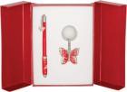 Подарочный набор Butterfly красный
