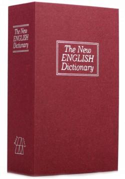 Книга сейф словарь большая красная