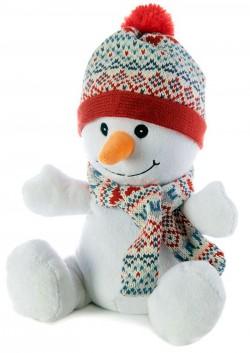 Игрушка-грелка Снеговик