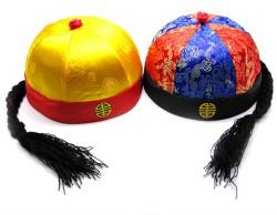 Китайская шапка с косой
