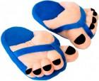 Тапочки супер ноги синий