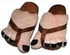 Тапочки супер ноги коричнивые