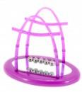 Шары Ньютона фиолетовые большие