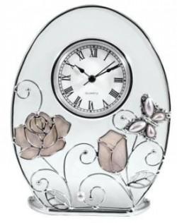 Настольные часы Jardin D`Ete «Бабочка с розой», 15 796