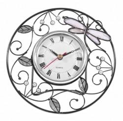 Настольные часы Jardin D`ete «Стрекоза и листочки», 19205D