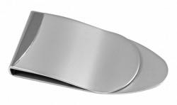 Серебристый зажим для денег Elite B8486