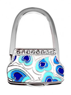 Держатель для сумки Jinli «Синие сердечки» JIN131